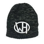 WH Sunrise Mountain Beanie Black/Charcoal