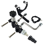 Wilwood Proportioning Valve with Bracket & Line Kit Right Side Drop 260-15048 use with Wilwood Maste