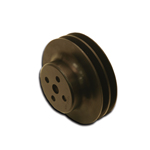Black Hard Core Billet Water Pump Pulley 5.7 OD
