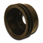 Black Hard Core Billet Crank Pulley 289-302-351W