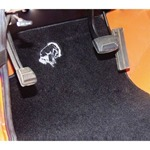 WH Bucking Bronco Logo Floor Mats Pair