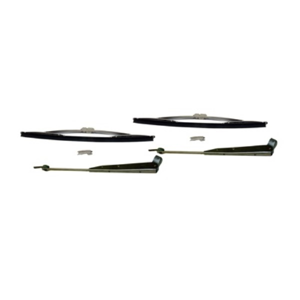 Regular Windshield Wiper Set (2 Arms 2 Blades)
