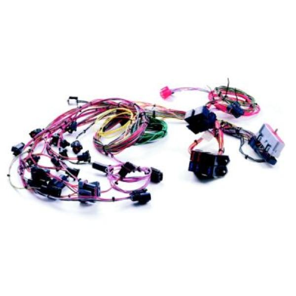 wiring harness wild horses early ford bronco parts painless fuel injection harness 86 95 ford 5 0l extra length