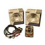 IPF X4 Offroad Headlamp Kit w/ Illuminator Harness