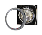 Chrome Headlight Ring - 66-70 No Notches
