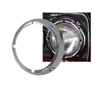 Chrome Headlight Ring - 71-77 with Notches