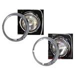 Chrome Headlight Ring