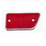 68-69 Rear Side Reflector Right Red 