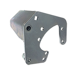 Power Steering Pump Bracket Zinc Clear