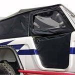 Bestop Supertop Roadster Combo with 1-Piece Door Inserts