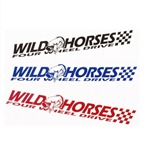 Small Wild Horses Sticker
