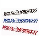 Small Wild Horses Sticker