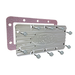 Aluminum T-Case Cover for use with 66-77 Bronco Dana 20 w/ Gasket