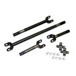4340 ChroMo Axles w/Spicer 760 Joints for use with 66-77 Bronco Dana 44