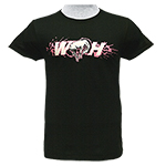 WH Ladies T-Shirt Light Pink Logos