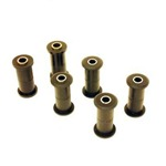 Spring and Shackle Bushing Kit Urethane 78-79 Bronco 73-79 F100, F150 4WD
