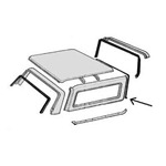 Roof Front Seal 78-79