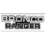 Bronco Ranger Emblem 78-79