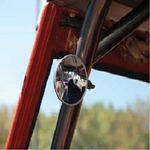 Mirror 3 Round Roll Bar Clamp Style