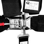 Corbeau 5-Point Latch & Link Harness Belt 3in