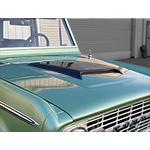 Ram Air Bolt-On Hood Scoop