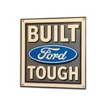Built Ford Tough Sign 23x24
