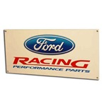 Ford Racing Performance Parts Sign 8x18 