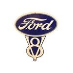 Ford V8 Sign 14 3/4x15
