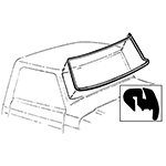 Windshield Seal 78-79 Bronco - OEM