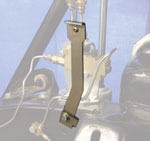 Brake Hose Mounting Bracket 67-77 Stainless