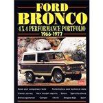 Ford Bronco 4x4 Performance Portfolio 66-77