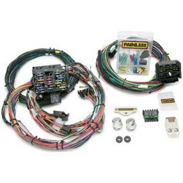 painless jeep wiring harnesses wild horses authorized dealer painless direct fit 23 circuit wiring harness 87 91 jeep yj series