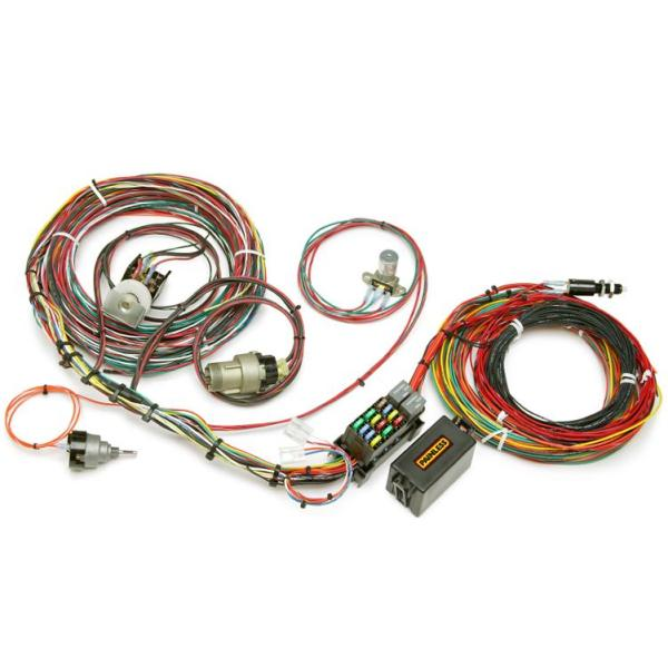 painless direct fit 21 circuit wiring harness f series ford truck 67 77 w switches painless