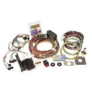 ford wiring harness painless direct fit mustang chassis wiring harness 65 66 22 circuit