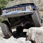 Jeep XJ Rock Solid Front Bumper w/ Winch Mount