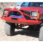 Jeep XJ Rock Solid Front Bumper w/ Stinger