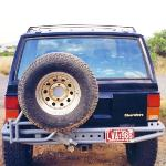 Jeep XJ PreRunner Rear Bumper w/ Tire Rack