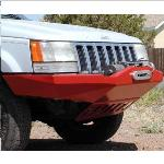 ZJ Rock Solid Front Bumper w/ Winch Mount