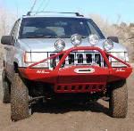 Jeep ZJ Rock Solid Front Bumper w/ Stinger