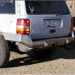 ZJ Rock Solid Rear Bumper - No Racks