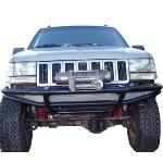 ZJ Flat Top Front Bumper w/ Winch Mounts