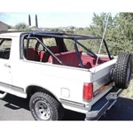 Family Cage w/6 Point Soft Top Support Kit 80-96 (Unwelded)