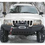 WJ Rock Solid Front Bumper w/ Winch Mount