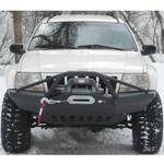 Jeep WJ Rock Solid Front Bumper w/ Winch Mount & PreBar .