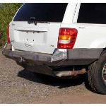 Jeep WJ Rock Solid Rear Bumper w/ Skid Plate - No Racks