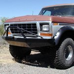 78-79 Rock Solid Front Bumper w/Winch Mnts & Pre-Bar