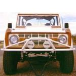 66-77 Classic Front Bumper Non-Winch 