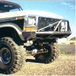 78-79 Big Bubba Front Bumper w/ Winch Mounts