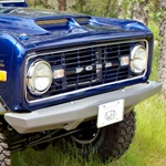 66-77 Rock Solid Front Bumper Non-Winch With Receiver