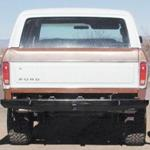78-96 Rock Solid Rear Bumper - No Racks